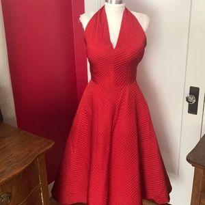 True vintage 1950s cocktail dress